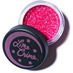 Lime Crime Sagittarius Zodiac Eye Glitter ($10) ❤ liked on Polyvore featuring beauty products, makeup, eye makeup, beauty, eyes, eyeshadow, pink, fillers, lime crime makeup and lime crime