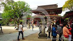 The Dazaifu Tenmangu Shrine, Fukuoka - Japan.  #Dazaifu #Tenmangu #Shrine #Fukuoka #Japan #dreamstime #photography