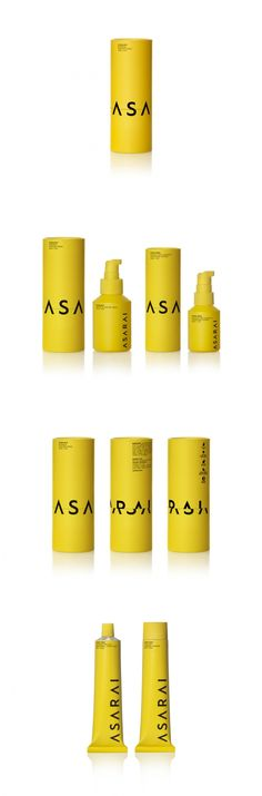 Yellow Packaging and Bold Typography Make This Cosmetics Line Stand Out — The Dieline | Packaging & Branding Design & Innovation News
