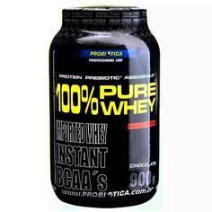 100% PURE WHEY é um alimento protéico composto basicamente por proteína concentrada do soro de leite (Whey Protein Concentrate), matéria-prima elaborada com alta tecnologia e elevada concentração de aminoácidos, principalmente BCAAs. De preparo instantâneo, 100% PURE WHEY é indicado para ser tomado antes e/ou após os exercícios.  #ad #fitness #maromba #uvs  http://www.umavidasaudavel.com.br/store/100-pure-whey-900g-probiotica.html