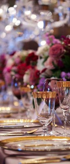 Some Enchanted Evening Luxury Wedding, Dream Wedding, Wedding Story, Garden Wedding, Some Enchanted Evening, Elegant Dinner Party, Beautiful Table Settings, Elegant Dining, Purple Wedding