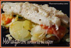 Este tipo de recetas me encantan para cenar. El pescado es una de mis comidas preferidas y acompañado de verduras es ideal y muy ligero. Así que, nos viene