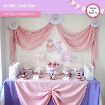 Princesa: decoración de fiesta