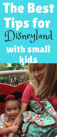 Tips for Disneyland with small children