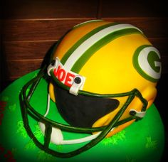 Green Bay Packers Cake!