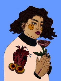 self portrait by namalas