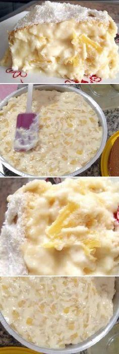 Cake Fillings, Cake Flavors, Cake And Cupcake Stand, Cupcake Cakes, Fun Desserts, Dessert Recipes, New Cake, Latin Food, Coffee Cake