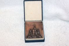 1967 Medal table of the Soviet era. Church of St. Basil's Cathedral ORIGINAL