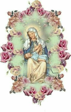 French pictures of blessed virgin mary Image Jesus, Jesus Christ Images, Religious Pictures, Jesus Pictures, Blessed Mother Mary, Blessed Virgin Mary, Catholic Art, Religious Art, Vintage Holy Cards