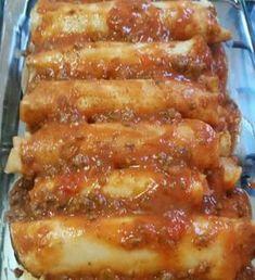 A Massa de Panqueca com Maizena é leve, deliciosa e fácil de preparar. Faça essa massa de panqueca incrível para toda a família. Confira a receita! Ketogenic Recipes, Low Carb Recipes, Vegan Recipes, Creamy Chicken Enchiladas, Enchiladas Healthy, Sour Cream Chicken, Good Food, Yummy Food, Salty Foods