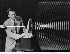 The visible patterns of sound waves, Bell Laboratories