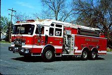 Woodlyn, PA FD Squrt 67 - 2006 KME 54' Telesquirt.