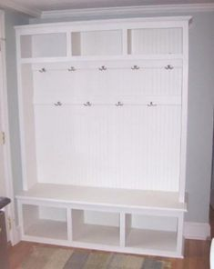 DYI for entry or mudd room.....OLD ENTERTAINMENT CENTER??