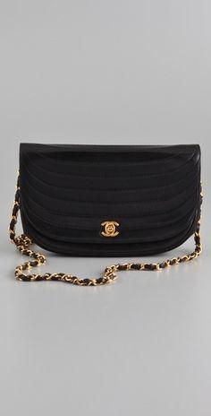 WGACA Vintage Vintage Chanel Curve Stitch Bag - StyleSays