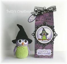 """Häkelanleitung für den Hexenhut """"Owl"""" ☺ Free Crochet Patterns ☺"""