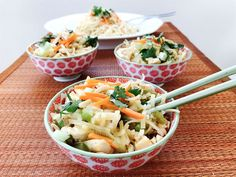 Sweet and Spicy Vegetarian Pad Thai