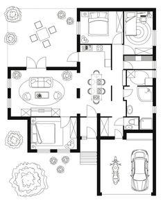Plan De Maison Les Logiciels Gratuits Et Faciles à Utiliser - Plan de maison sketchup