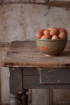 Farm-fresh eggs.