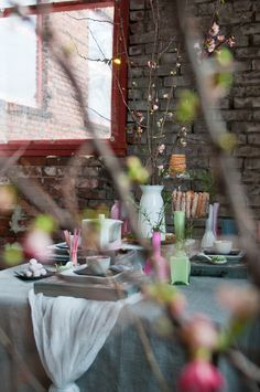 aa25b7cae6ee Beautiful Bridal Shower! Japanese + American-Rustic Inspired Bridal Tea  Party (photography by