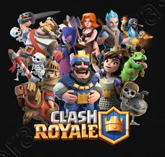 Camiseta Clash Royale Clash of Clans - nº 1312894 - Camisetas latostadora
