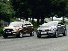 Озвучены цены на Lada Vesta и Xray - Авто.Вести