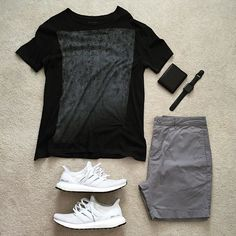 WEBSTA @ excessive.styles - Easy outfit for a busy day _______________• @allsaintslive Tshirt• @zanerobe shorts• @adidas…