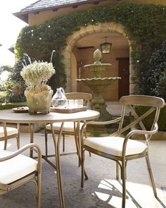 Bordeaux Outdoor Bistro Dining Furniture - Horchow
