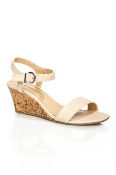 ShopSosie Style : Mattie Sandal in Nude