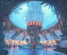 To Save the Oceans, These Guys Are Turning to Sci-Fi | Simon Stålenhag's piece…