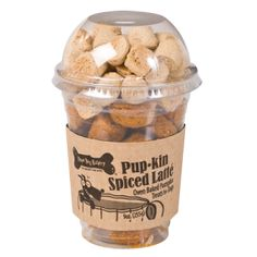 PUP-kin Spiced Latte new Fall Dog Treats from Three Dog Bakery. Come get a 15% OFF Promo Code during September!
