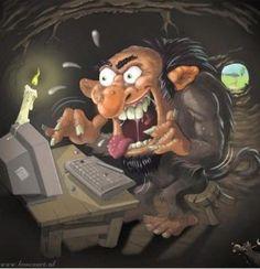 What is an Internet Troll? Cadette Netiquette Badge