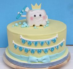 Baby's First Tooth Cake