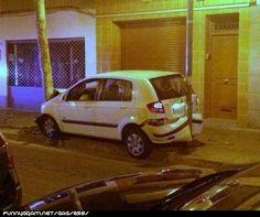 Impressive parking skills