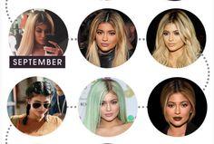 VAMPKADIN.COM: KYLIE JENNER 2015 yılı saç modelleri