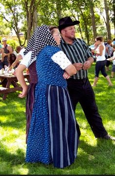 A typical Hutterite couple