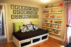 Improve your baby room for more than just nursery theme decor but also enhancement to overall space with nursery shelves! Different designs ideas are limitless