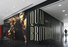 Quay Brothers - The Department of Advertising and Graphic Design