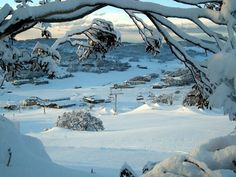 SNOW – in Australia? The snowy mountains in New South Wales. In fact, you can even go skiing there!