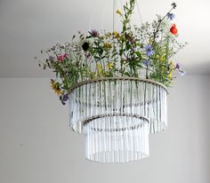 Maria S.C. Double Test Tubes Chandelier — Faith's Daily Find 05.13.13