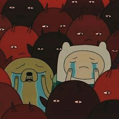 Shared by Intya Choudhury. Find images and videos about red, aesthetic and sad on We Heart It - the app to get lost in what you love. cartoon adventure time Image in cartoon aesthetics collection by sick aesthetics Cartoon Icons, Cartoon Memes, Cute Cartoon, Red Aesthetic, Aesthetic Anime, Cartoon Wallpaper, Adventure Time, Cartoon Network, Photographie Street Art