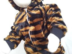 Custom Baby or Child Black and Brown OR White Zebra Halloween Costume