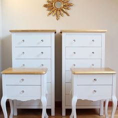 Blanco y dorado  White  Gold bazarvintageandchic muebles furniturehellip Unusual Furniture, Classic Furniture, Colorful Furniture, Upcycled Furniture, Rustic Furniture, Living Room Furniture, Painted Furniture, Diy Furniture, Furniture Design