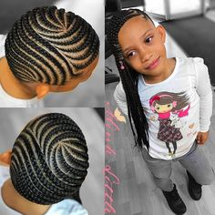 Cute 20 Cornrows for Kids Hairstyles Little Girl Braids, Black Girl Braids, Braids For Kids, Braids For Black Hair, Girls Braids, Lil Girl Hairstyles, Black Kids Hairstyles, Kids Braided Hairstyles, My Hairstyle