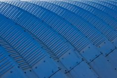 Blue Waves and Rivets - Print - melikacarr