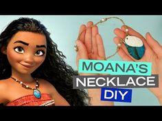 Moana Seashell Necklace DIY | Disney Style - YouTube