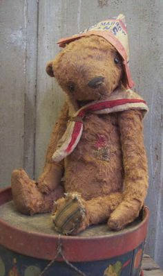 Beans - Whendi's Bears, Wendy Meagher, one of my very favorite teddy bear artist.