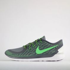 Nike Free 5.0 2015 Mens Running Trainers Shoes Cool Grey #Nike #RunningTrainers