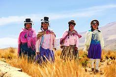 Andina women Pampa de Arrieros Peru