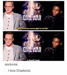 God bless Chadwick Boseman