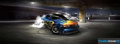 Drifting Car Timeline Cover 850x315 Facebook Covers - Timeline Cover HD
